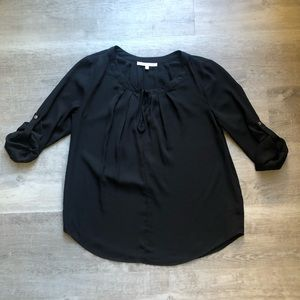 Daniel Rainn black blouse size S